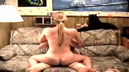 Blonde Girl Rides A Dick In All Directions