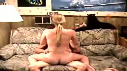 Blonde Girl Rides A Dick In All Directions - scene 6
