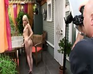 Behind The Scenes Ashley Is Also Sexy Chick - scene 8