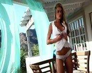 Lovely Morning With Blonde Girl Randy Moore - scene 2