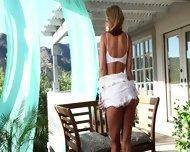 Lovely Morning With Blonde Girl Randy Moore - scene 3