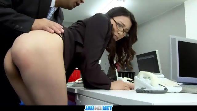 Japanese slut playing with base unit sex toy control - 3 part 1