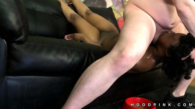 White on black rough sex is shocking