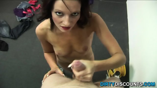 POV Punishing Wankjob From Angry Babe