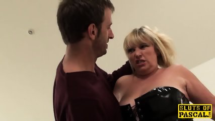 Mature British Sub Gets BDSM Sex Humiliation - scene 3