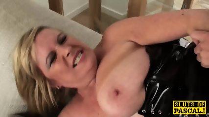 Mature British Sub Gets BDSM Sex Humiliation - scene 7