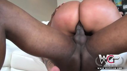 Kiara Mia  First  Black  Anal
