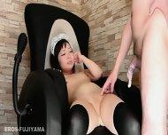Asian Maid Yuri Is Waiting For Orders - scene 11