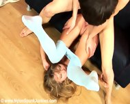 Young Lady Donna Takes Care Of Her Boyfriend's Cock - scene 12
