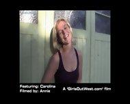 Boring Day Of Carolina - Girl From Countryside - scene 11