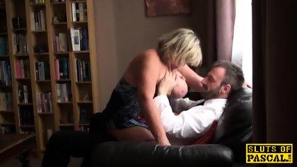 Big British Bdsm Broad Squirts During Fucking - scene 8
