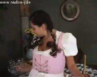 Oktoberfest waitress - scene 1
