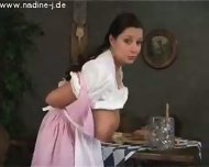 Oktoberfest waitress - scene 7