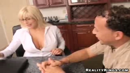 Big Tittied MILF Fucked - scene 7