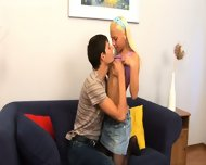 Blonde Teen Wants To Feel The Cock - scene 2