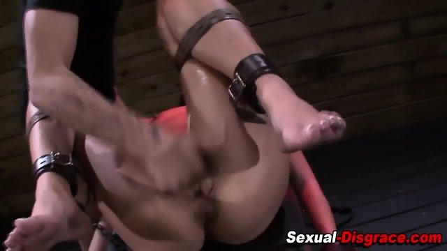 Fetish slut throat fucked