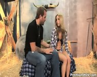 Country Girl Gets Pounded In Barn - scene 3