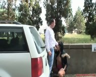 Shameless Outdoor Games Of Horny Couple - scene 4