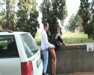 Shameless Outdoor Games Of Horny Couple - scene 6