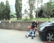 Shameless Outdoor Games Of Horny Couple