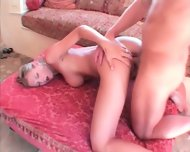 Amazing Teen's Cock Filled Deep Holes - scene 8
