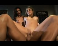 Two Wet Whores In Action - scene 8