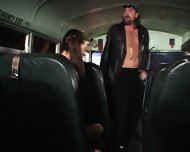 Bad Boy Fucks Young Girl In The School Bus - scene 2