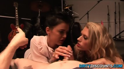 Real Babes Pov Wanking Off Blokes Cock - scene 6
