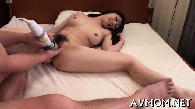 Hot milf devours large cock