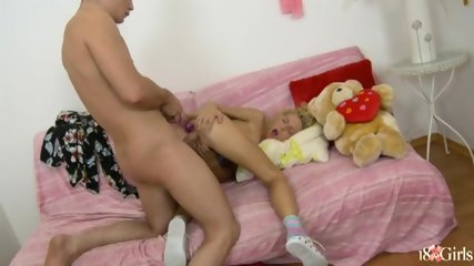 with Anal year sex old a