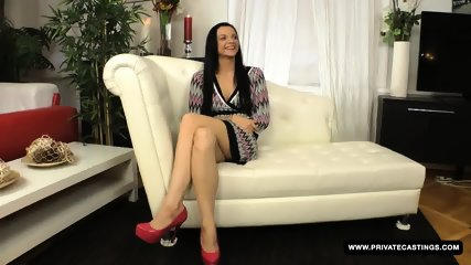 Brunette Anita Gets Screwed In The Ass During Her Casting Audition - scene 1