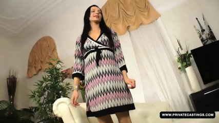 Brunette Anita Gets Screwed In The Ass During Her Casting Audition - scene 2