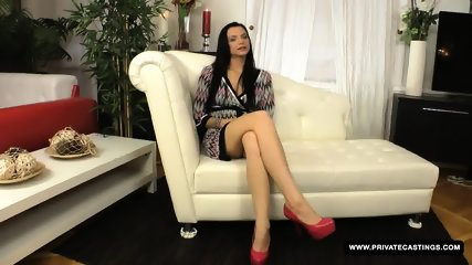 Brunette Anita Gets Screwed In The Ass During Her Casting Audition - scene 3