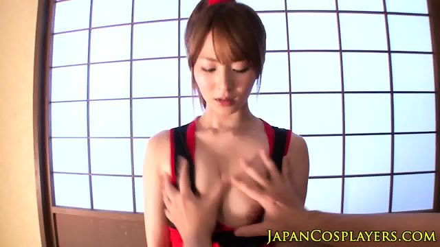 Japanese uniform babe fucked before facial