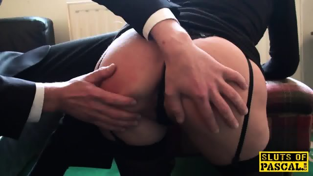 British sub dominated while squirting