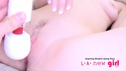 CLASSY BLONDE SUCKS COCK AT AUDITION PHOTO SHOOT - scene 9