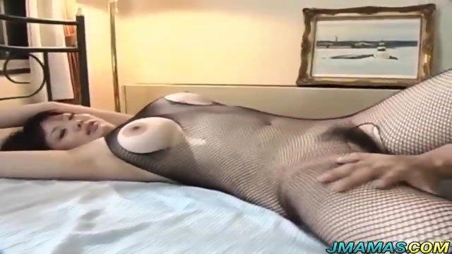 Arousing Asian babe Sakura sucks fat cock - scene 8