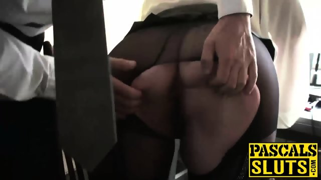 Big ass MILF with huge tits gets penetrated roughly on floor - scene 7
