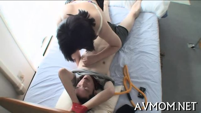 Milf gets tripple teamed - scene 3