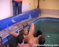 Sex Party At The Pool - scene 8