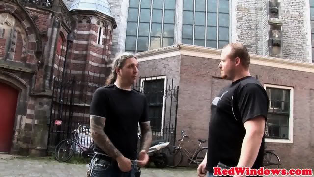 Amsterdam whore cocksucking tourist