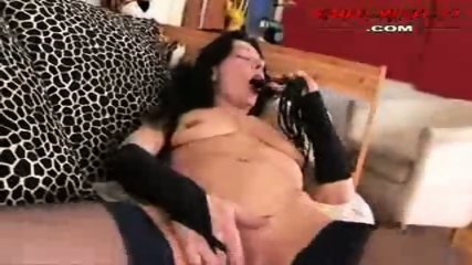Mature in a couch enjoy alone - scene 2