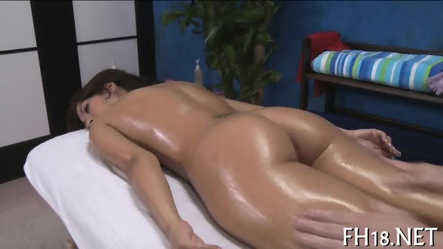 Sinfully sexy pussy stroking