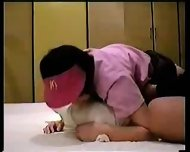 Japanese Girl in Working Uniform - scene 9