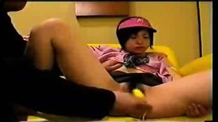 Japanese Girl in Working Uniform - scene 11