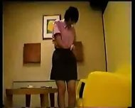 Japanese Girl in Working Uniform - scene 3