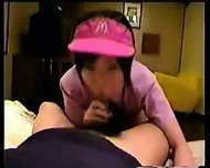Japanese Girl in Working Uniform - scene 6
