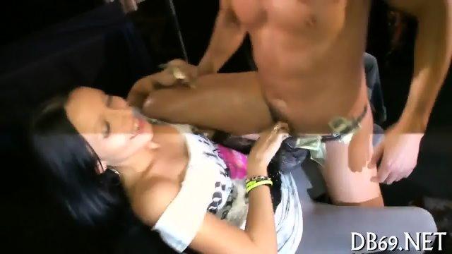 Discreet gay blowjob