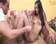 Teenage Girl Hedvika Is Addicted To Nice Sex - scene 3