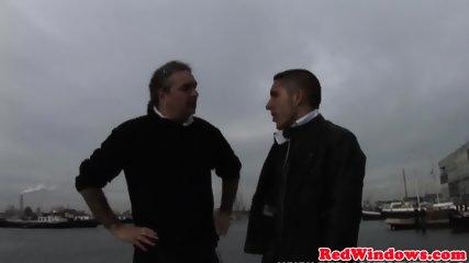 Dutch Prostitute Cumsprayed While Fingering - scene 3